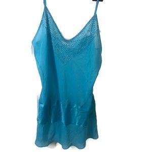 Victor Secrete transparent nightgown